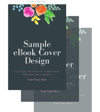Custom eBook Cover as add on to eBook writing service